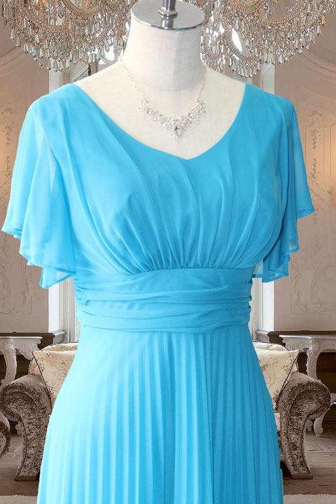 ターコ袖付ステージドレス