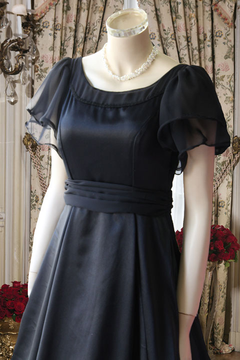 袖付きオリジナルオーダードレス